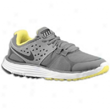 Nike Lunarswift +3 Shield - Womens - Gloomy Grey/black/reflect Silver/sonic Yellow