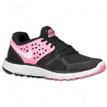 Nike Lunarswift + 3 - Womens - Black/cherry/white
