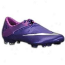 Nike Mercurial Glide Ii Fg - Mens - Volt/imperial Purple/retro-volt