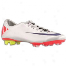 Nike Mercurial Miracle Ii Fg - Mens - Granite/white/solar Red/imperial Purple