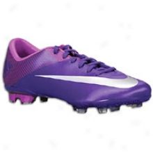 Nike Mercurial Vapor Vii Fg - Big Kids - Court Purple/magenta/metallic Luster