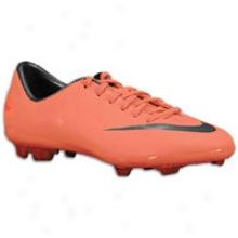 Nike Mercurial Vappr Viii Fg - Full Kids - Bright Mango/challennge Red/metallic Dark Grey