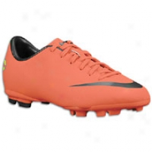 Nike Mercurial Victory Iii Fg - Big Kids - Bright Mango/metalliv Dark Grey