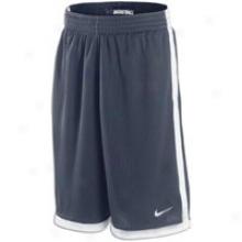 Nike Money Mesh Short - Mens - Obsidian/white