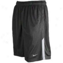 Nike Monster Mesh Short - Mens - Black/grrey-flint Grey