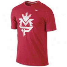 Nike Mp Logo S/s T-shirt - Mens - Gym Red