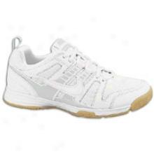 Nike Multicourt 10 - Womens - White/metallic Silver