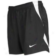 "Nike Mystifi 4"" Game Short - Big Kids - Black/white/white"