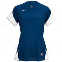 Nike Mystifi Jersey - Big Kids - Navy/white/white