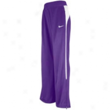 Nike Mystifi Warm-up Pant - Womens - Purple/white/white