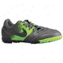 Nike Nike5 Bomba - Big Kids - Metallic Grey/electric Green/metallic Grey