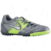 Nike Nike5 Bomba - Mens - Metallic Dark Grey/electric Green/ Dark Grey/