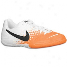 Nime Nike5 Elastico - Big Kids - White/total Orange/black