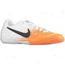 Nike Nike5 Elastico - Mens - White/total Orange/white