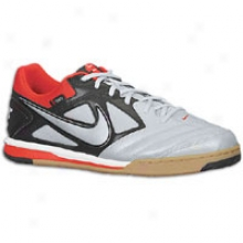 Nike Nike5 Gato - Mens - Black/metallic Platinum/challenge Red/gum