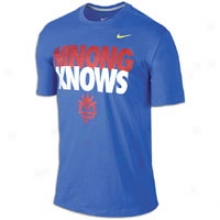 Nike Ninong Knows S/s T-shirt - Mens - Game Royal