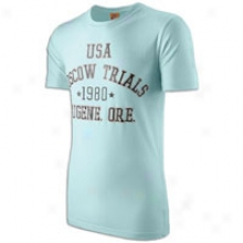 Nije Ntf 80 Trials S/s T-shirt - Mens - Mint Candy