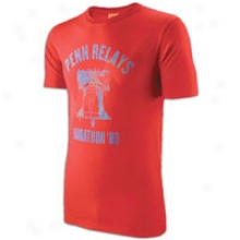 Nike Ntf Penn R S/s T-shirt - Mens-  Challenge Red