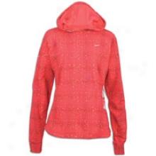 Nike Nxn11 Soft Hand Plaid Hoodie - Wmoens - Pink