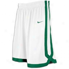 Nike Oklahoma Game Short - Mens - White/dark Green