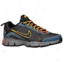 Nike Otr Dual Fusion Trainer Ii - Mens - Black/slate Blue/team Orange/black