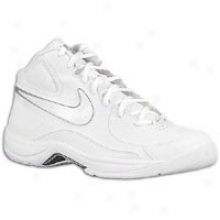 Nike Overplay Vii - Mens - White/white/metallic White