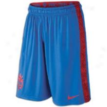 Nike Pacquiao Dri-fit Fly Short - Mens - Varsity Royal