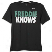 Nike Pacquiao Freddie Knows S/s T-shirt - Mens - Black