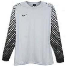 Nike Park Iii L/s Goalie Jersey - Mens - Mafte Silver/black/black