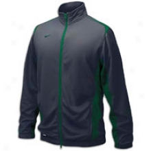 Nike Players Training Warm-up Jacket - Mens - Anthracite/dark Green/cark Green