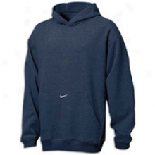 Nike Premier Fleece Hoodie - Mens - Navy