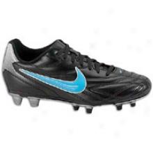 Nike Premier Iii Fg - Womens - Black/metallic Silver/chlorine Blue