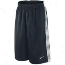 Nike Print Money Short - Mens - Black/white
