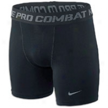 Nike Pro Combat Compression Short - Big Kids - Black/cool Grey