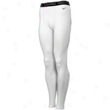 Nike Pro Combat Compression Tight - Mens - White