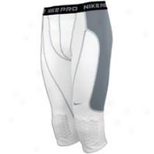 Nike Pro Combat Brilliant Thief Slider - Mens - Whietcool Grey