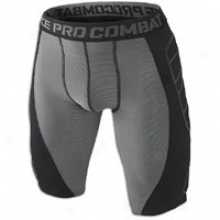 Nike Pro Combat Hyperstrong Heist Slider - Mens - Grey/black