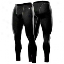 Nike Pro Combat Hyperwarm Comp Tight - Mens - Black