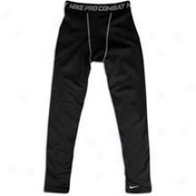 Nike Pro Combat Hyperwarm Tight - Big Kids - Black