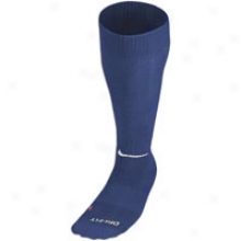 Nike Pro Compression Baseball Sock - Mens - Midnight Navy/white
