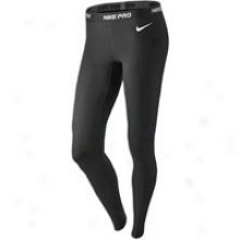Nike Pro Tight - Womens - Black/white