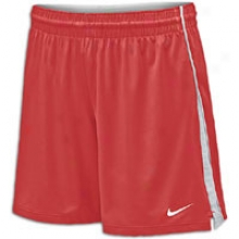 Nike Prospect 7in Short - Womens - Scarlet/white/white