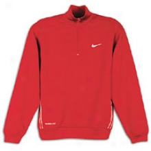 Nike Quaryer-zip Fleece - Mens - Varsity Red/white