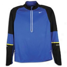 Nike Race Day Denier Diff 1/2 Zip - Mens - Old Royal/black/electrolime/reflective Silverr