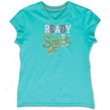 Nike Ready To Shine S/s T-shirt - Big Kids - New Gren