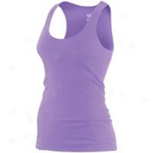 Nike Rib Tank - Womens - Violet Pop