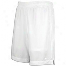 Nike Rio Ii Game Short - Mens - White/white/silver