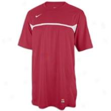 Nike Rio Ii S/s Jersey - Mens - Cardinal/white/white