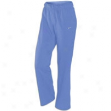 Nike Scoop Fleece Pant - Woemns - Drenched Blue/white