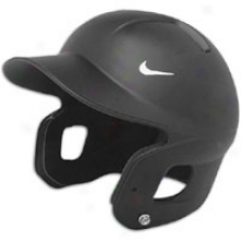 Nike Show Matte Batting Helm - Black